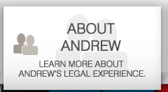 about andrew learn more about andrews legal experience
